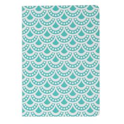 Moroccan Geometrics Pocket Notebook Blue