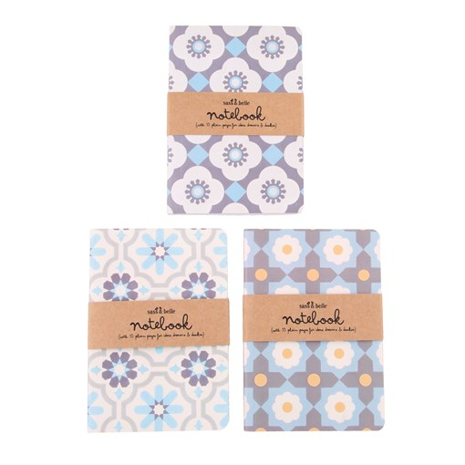 Mediterranean Mosaic Pocket Notebooks