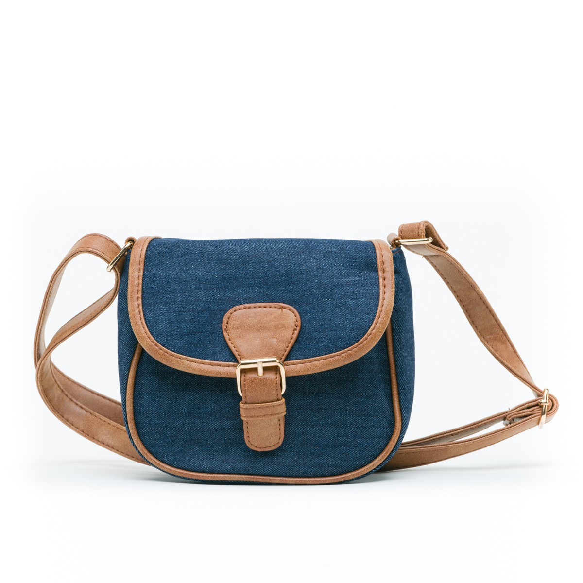 Small Blue Pouch Bag - Mint and Molly