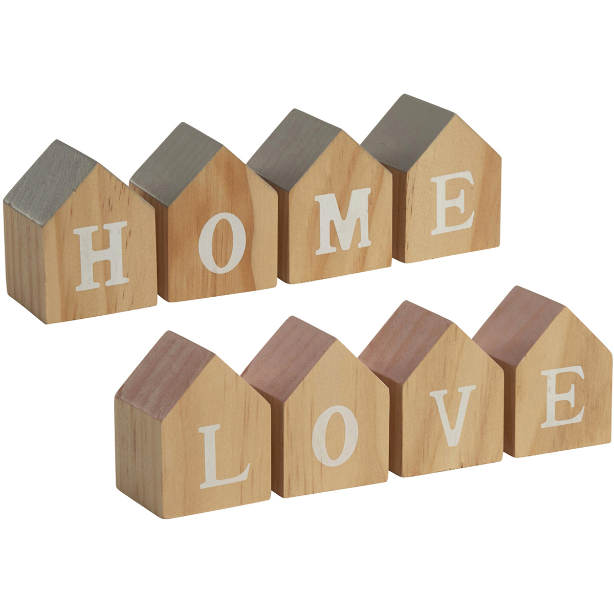 house shape home love letter blocks mint and molly With home letter blocks