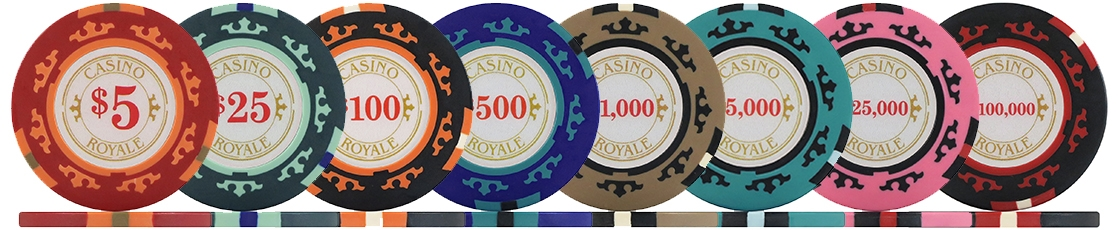 Casino Royale Poker Chips and Sets