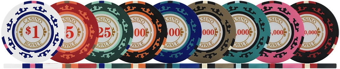 Casino Royale Poker Chips & Sets