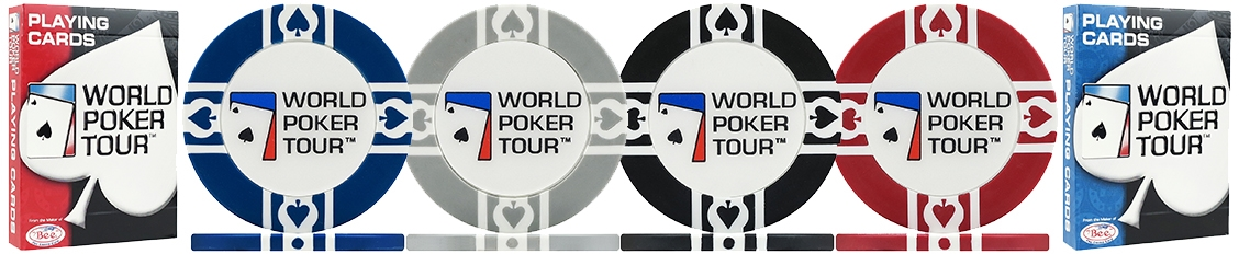 WPT World Poker Tour Poker Chips & Sets