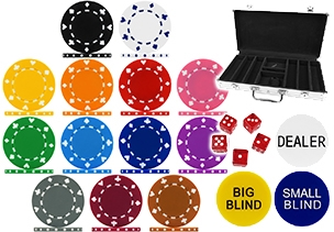 High Quality Suited Poker Chips & Sets