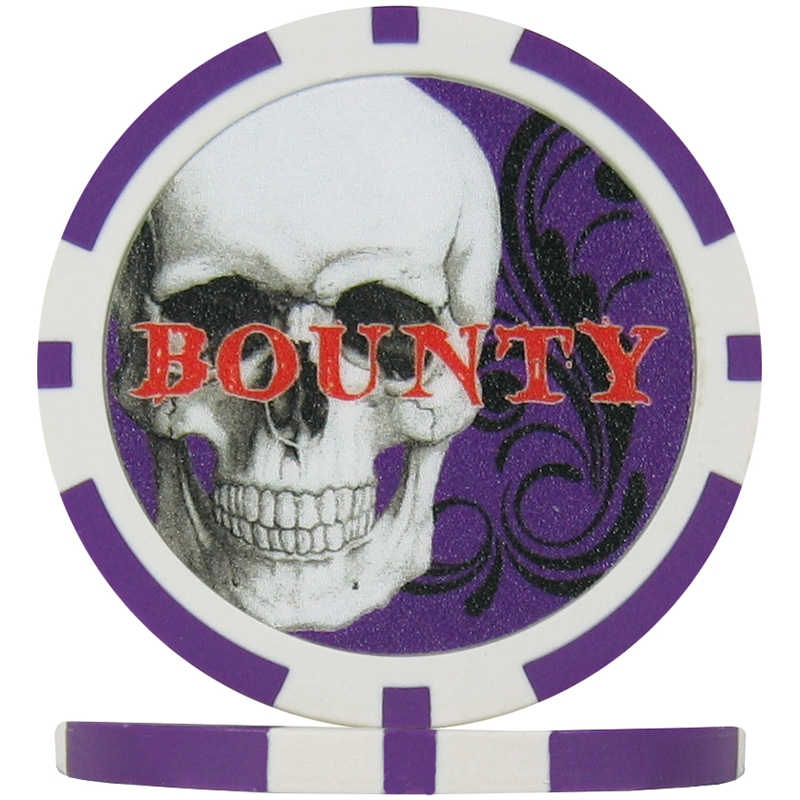 Purple Bounty Chip Skull