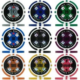Full House Poker Club Poker Chips & Sets