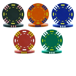 Tri-Colour Poker Chips & Sets