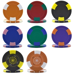 Tri-Gen Tournament Poker Chips & Sets