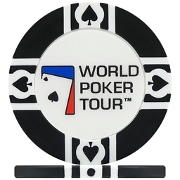 WPT World Poker Tour Poker Chips - Black