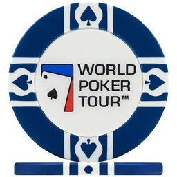 WPT World Poker Tour Poker Chips - Blue