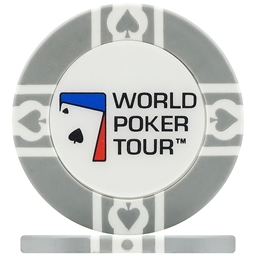 WPT World Poker Tour Poker Chips - Grey