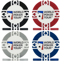WPT World Poker Tour Poker Chips - Sample Pack