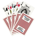 WPT Playing Cards Red