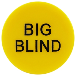 High Quality Yellow Big Blind Button