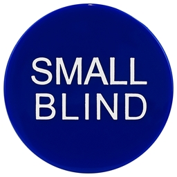 High Quality Blue Small Blind Button