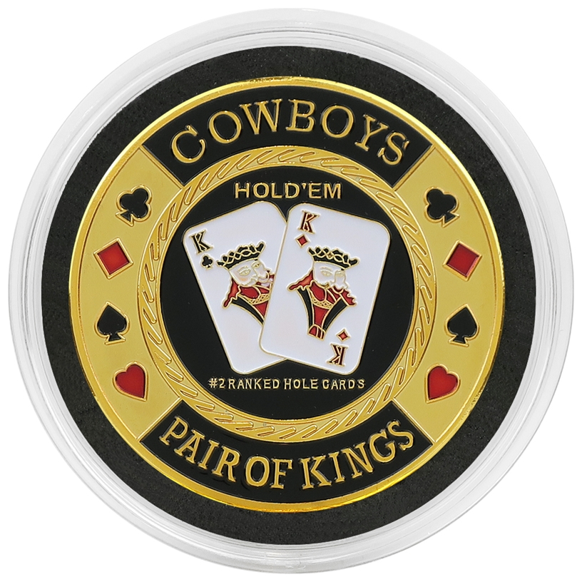 Cased Cowboys Card Guard