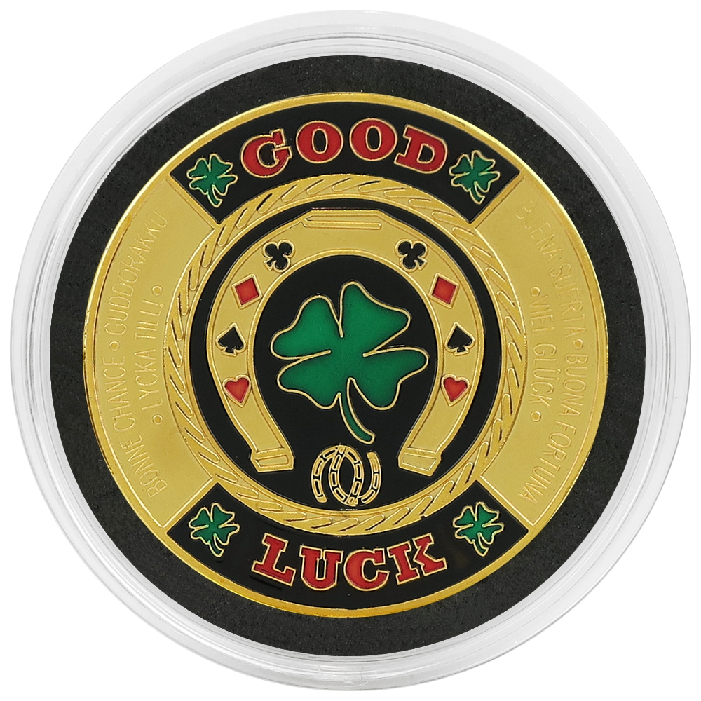 NEW Big Slick Ace /& King Poker Card Guard *GOLD*