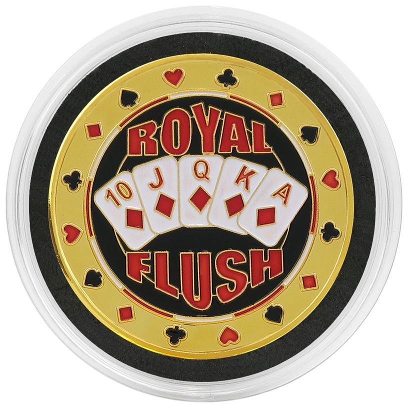 Cased Royal Flush Card Guard