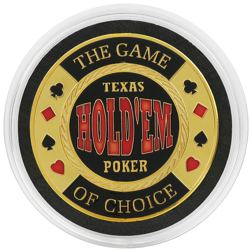 Cased Texas Holdem Card Guard