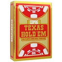 COPAG Gold Red Texas Hold'em Playing Cards