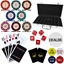 Three Colour Crown 300 Piece 14g Poker Chip Set