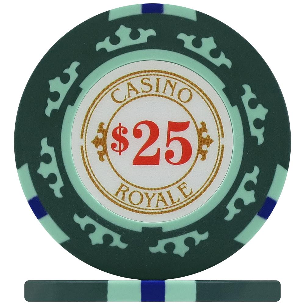 $5,000 CASINO ROYALE POKER CHIPS 25