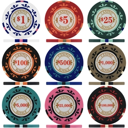 Crown Casino Royale 14g Poker Chips & Sets