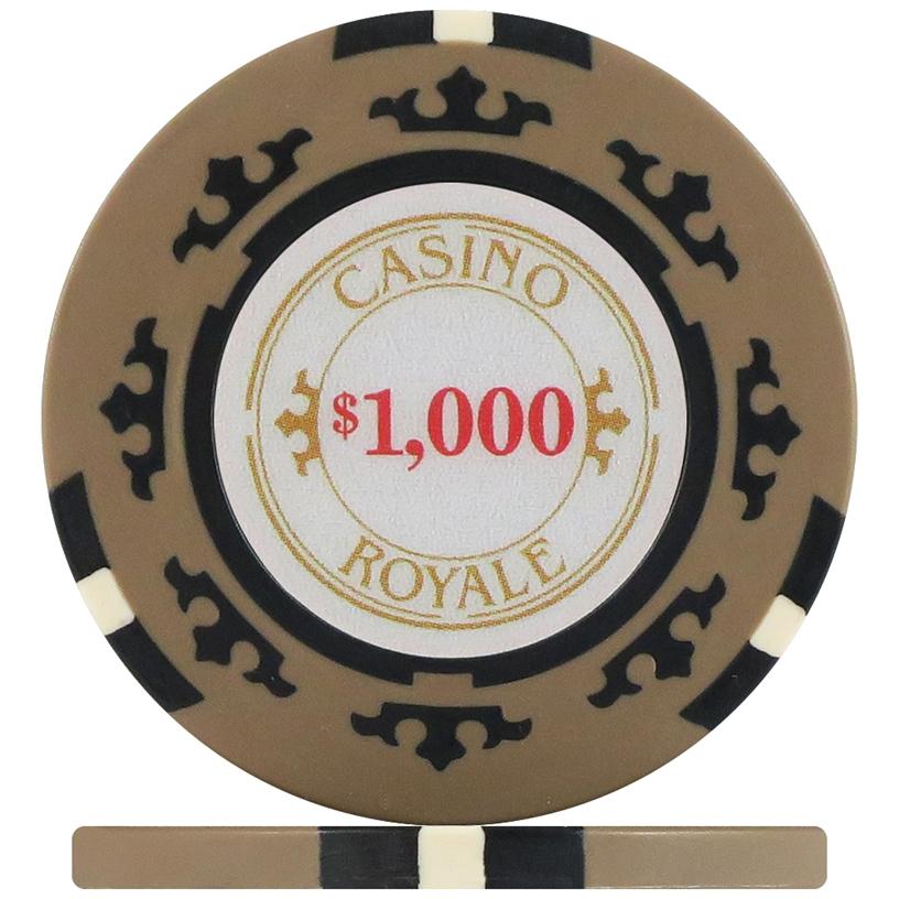 Crown Casino Royale Poker Chip Sample Pack