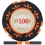 Casino Royale Poker Chips - Black $100