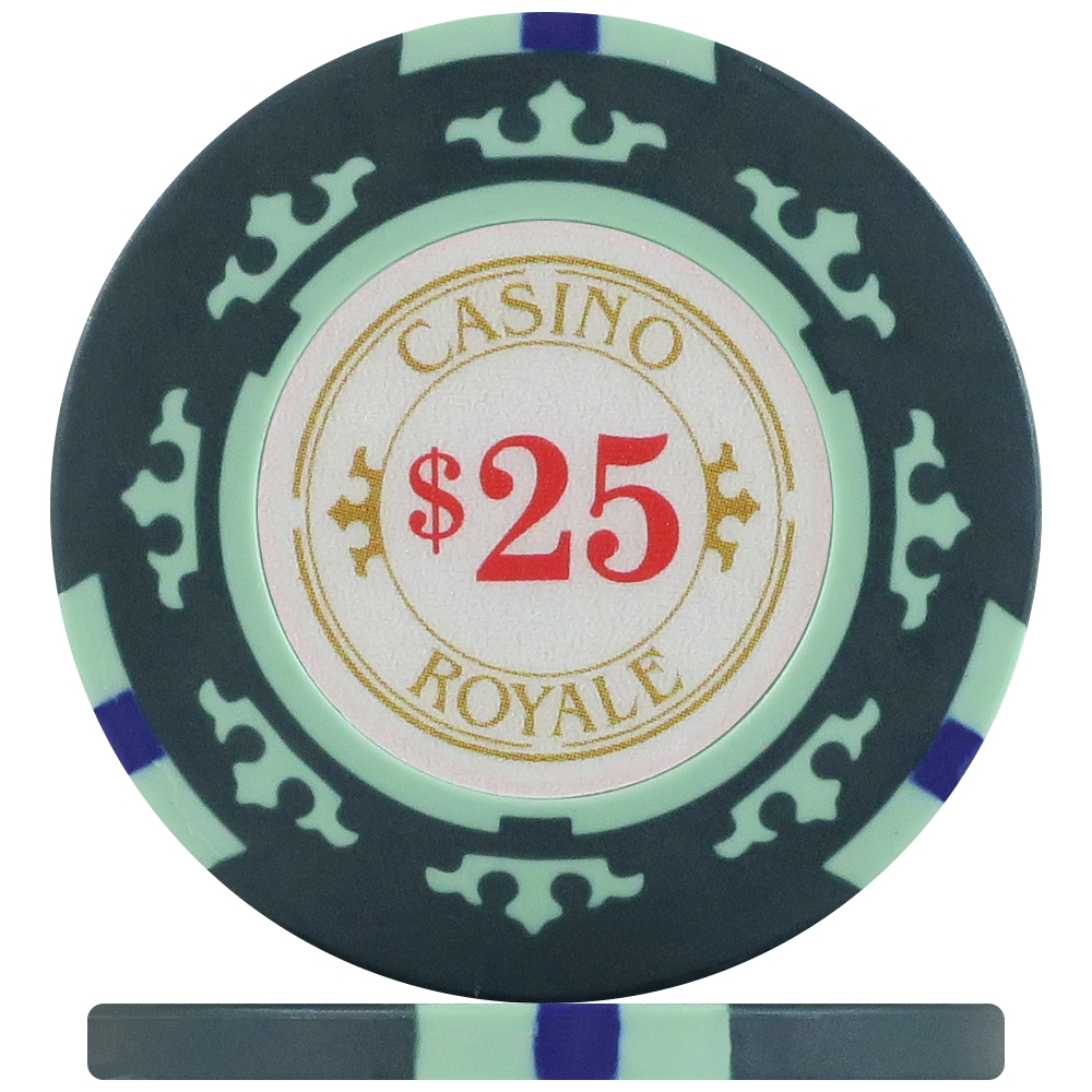 Casino royale 500-piece poker chip set casino champion flash