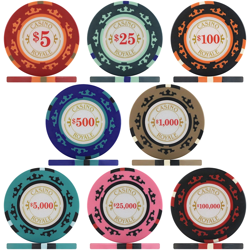 Casino royale poker chips play casino online card game