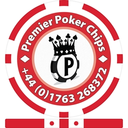 8 Stripe Custom Poker Chips PPC Logo