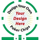 Design Your Own 8 Stripe Custom Poker Chips