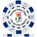 UV Dice Custom Poker Chips PPC Logo