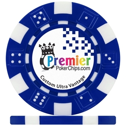 Ultra Vantage Dice 12g ABS Custom Poker Chips
