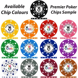 UV Suited Custom Poker Chip Sample