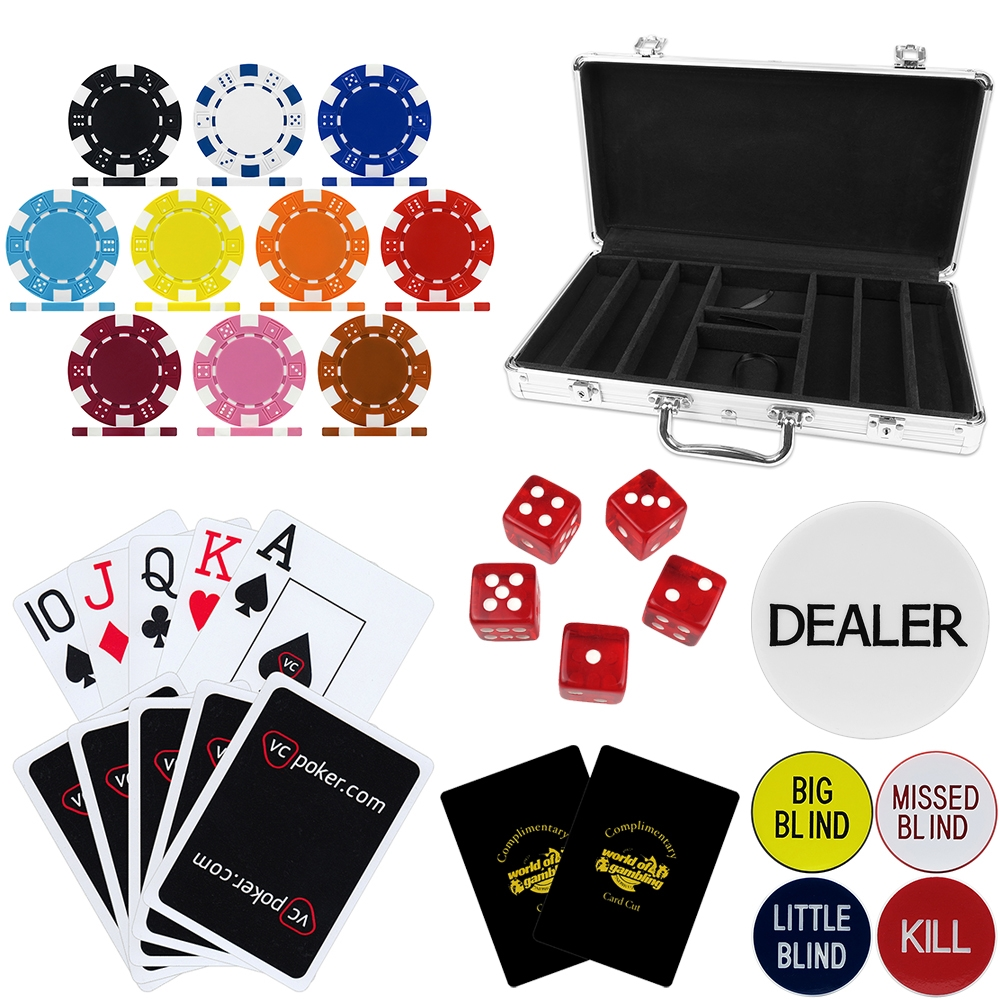 The Original Poker Chip Customizer Kit & Accessories