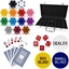 High Quality 300 Piece Dice Poker Chip Set