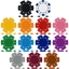 High Quality Dice Poker Chip Sample Pack