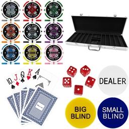 Full House Poker Club 300 Piece 14g Poker Chip Set