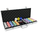 Full House Poker Club 500 Piece, 14g Poker Chip Set