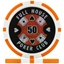 Full House Poker Club Poker Chips - Orange 50