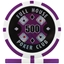 Full House Poker Club Poker Chips - Purple 500