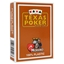 Modiano Brown Texas Holdem Poker Plastic Playing Cards