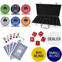 Monte Carlo Tournament 300 Piece Poker Chip Set