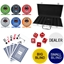 Monte Carlo Tournament 300 Piece Ceramic Poker Chip Set