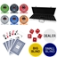 Monte Carlo Tournament 500 Piece Ceramic Poker Chip Set