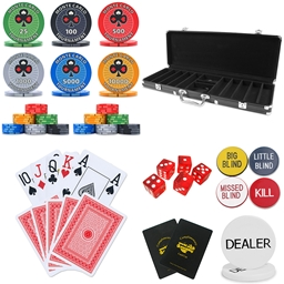 Monte Carlo Tournament 500 Piece Poker Chip Set