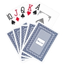 Poker Club Playing Cards - Blue
