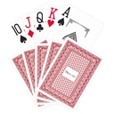 Poker Club Playing Cards - Red